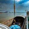 Discharging Cargo to Barge