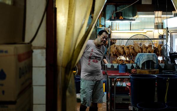 Katong Chicken Prep