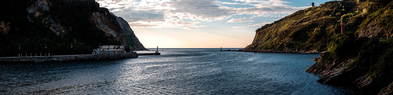 Toward Bay of Biscay Panorama