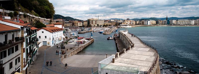 Donostia Port Panorama