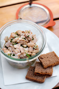Chicken Salad and White Beans