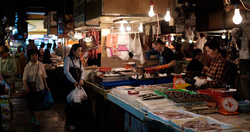 Wet Market Shopping