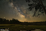 Bohall Lake Milky Way