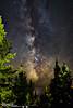 Black Moon Milky Way