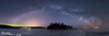 Milky Way Over Splitrock