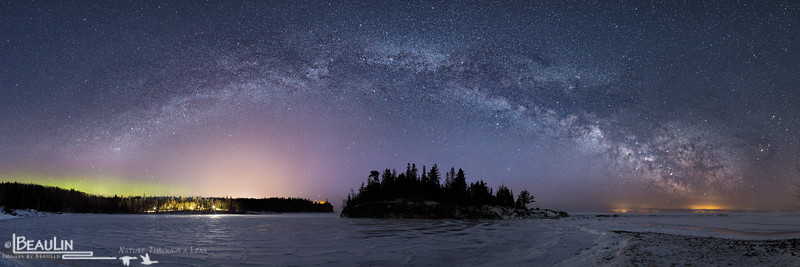 Milky Way Over Splitrock