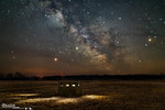 Milky Way from Carp