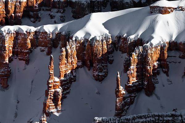 Snowcapped Hoodoos