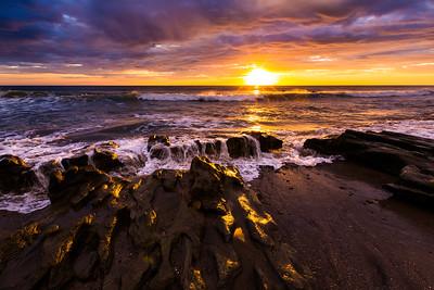 Santana sunset