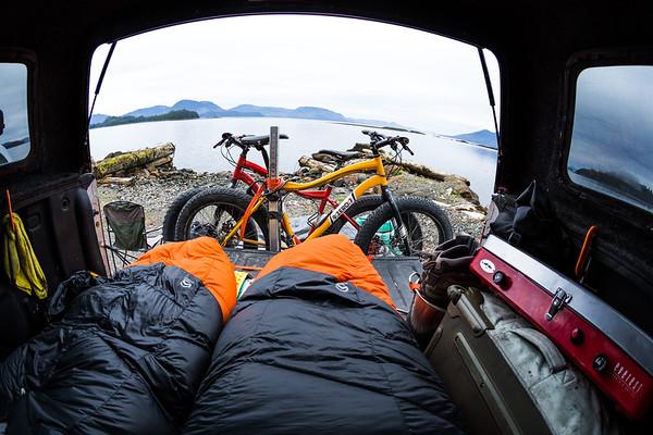 ocean front camp