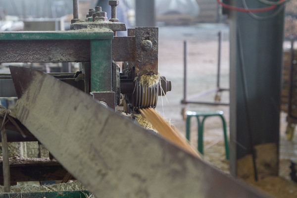 Bamboo Strip Crusher