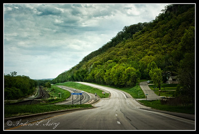 I shot this one while my cousin was driving...on our trip to La Crosse, WI