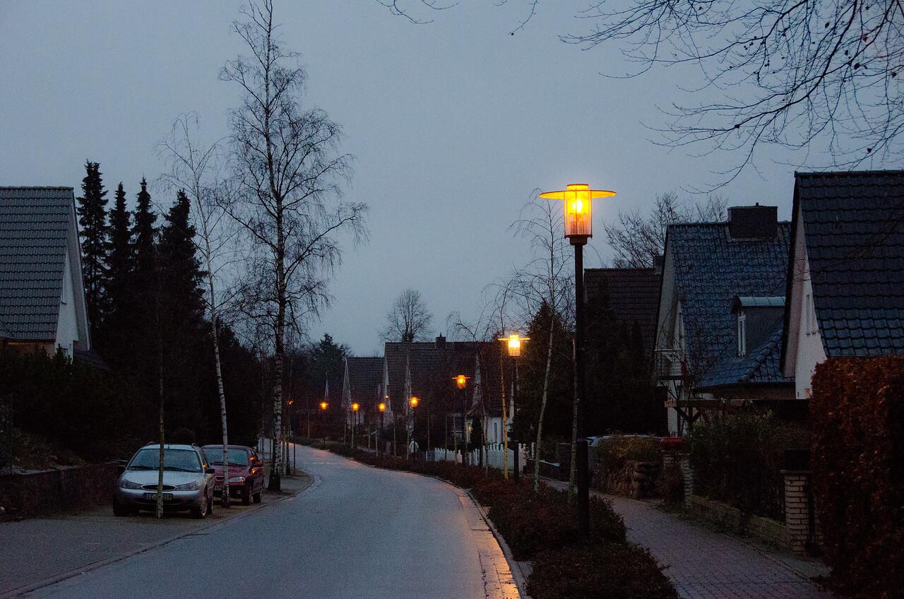 Residential street in Preetz