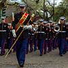 4th Marine Air Wing Band New Orleans, LA during Mardi Gras 2014
