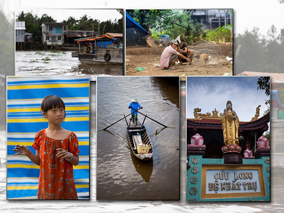 we brengen een bezoek aan een Boedha tempel en wandelen door een dorp