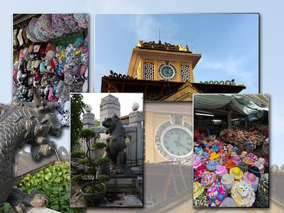 Ho Chi Minh : de Binh Tay markt