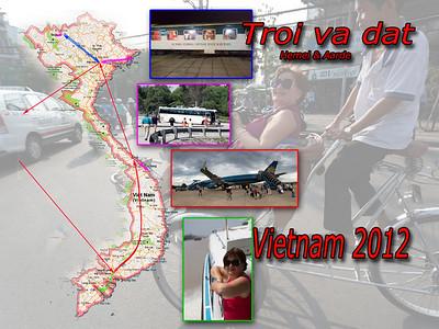 Een geweldige reis door het wonderbaarlijk landschap van Vietnam.