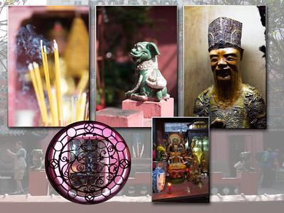Ho Chi Minh : tempel van de Jade keizer