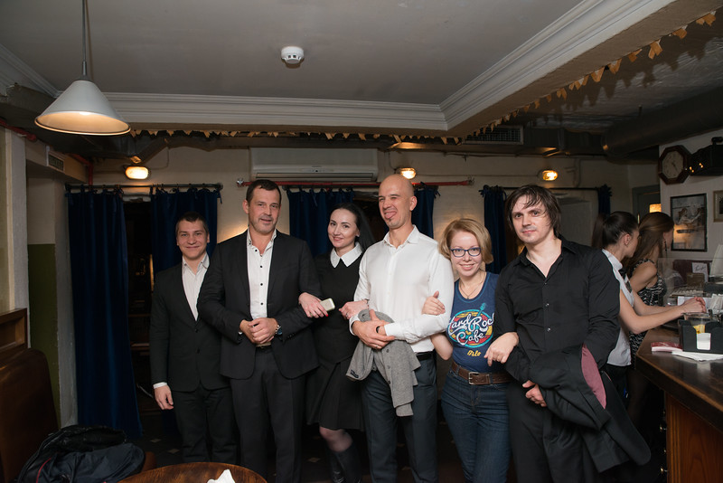 "ВИА The Champions в клубе ""Высоцкий"" г. Москва"