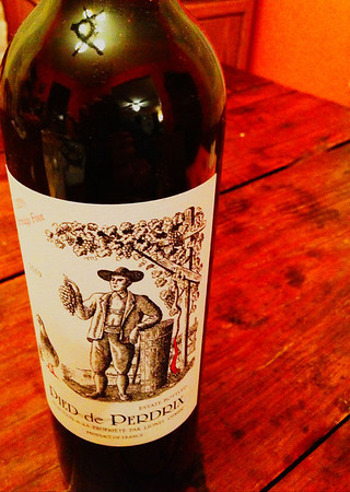 2013-01-15: A bottle of wine with dinner.