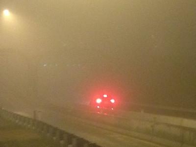 2013-01-13. Foggy vehicle measurement.