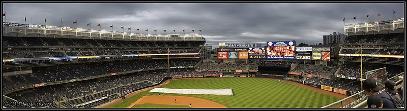 Panorama of new Yankee Stadium<br /> (brighter processing)