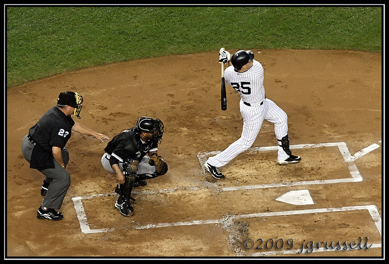 Teixeira at bat