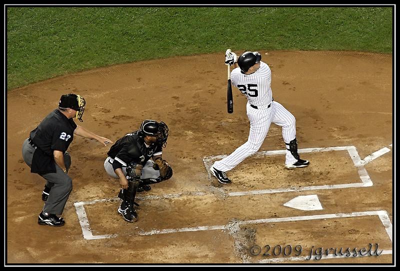 Teixeira at bat