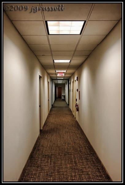 Lonely hallway...