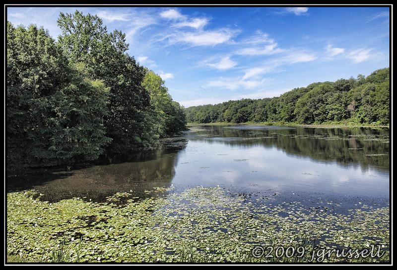 Summer on Weston Mills Pond