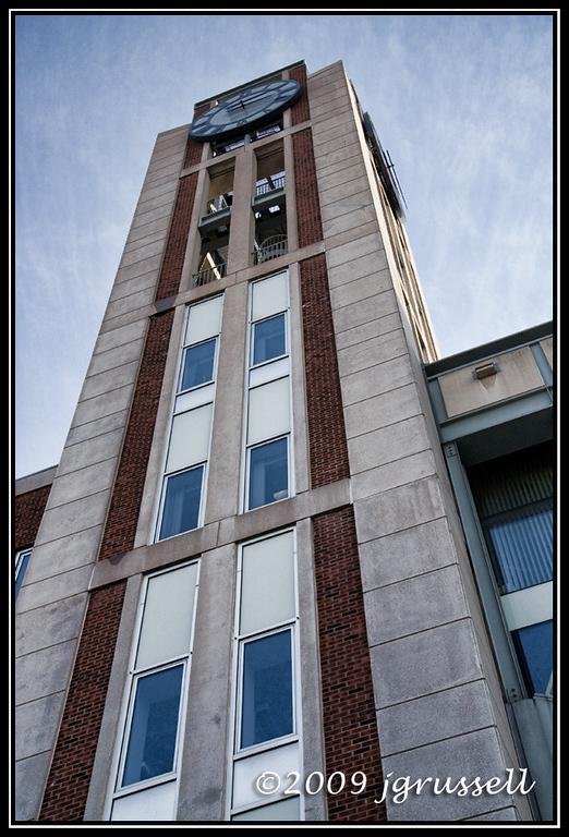 Rutgers Law School clock tower