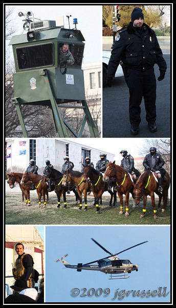 Inaugural montage: security