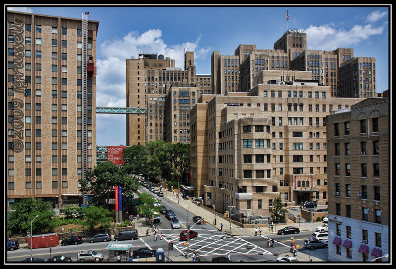View from the roof:<br /> Ft Washington Ave & 168th St