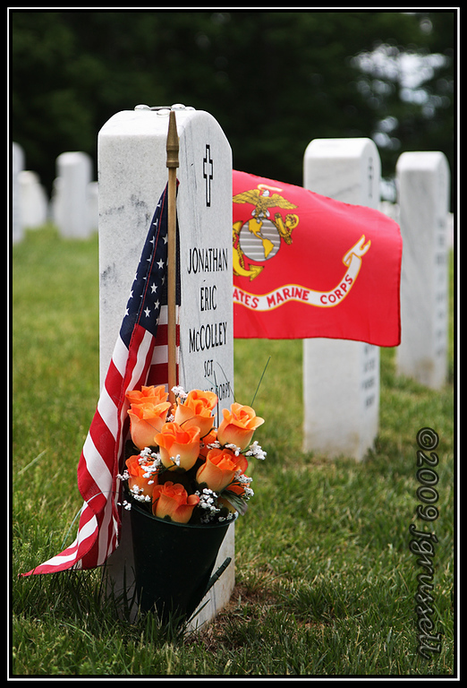 Memorial Day 2009<br /> Quantico National Cemetery