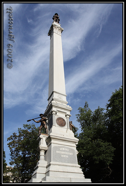 Civil War Memorial at<br /> NC State Capitol