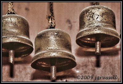 And the clanging of the bells...