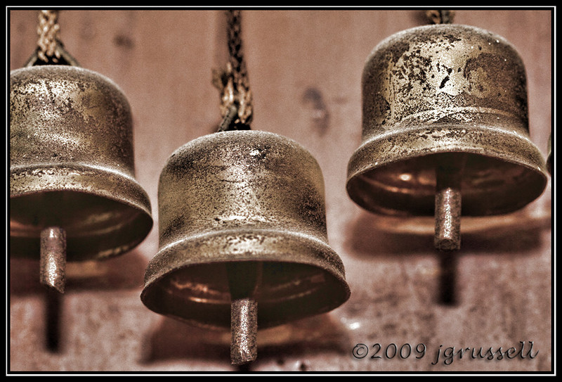 The clanging of the bells