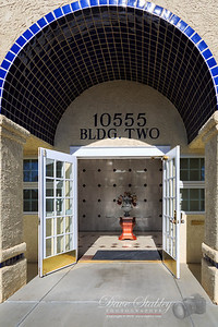 "Friday 10 January 2014: DOORWAY ""Doorway"" is NOT a tough subject to shoot, the problem is deciding which incredible doorway to use. We have some great ones here in Albuquerque, even more in Santa Fe...the area is really noted for some fabulous doorways. In the end, I opted for the doorway to my office - this is the sight that greets me every morning when I arrive (actually is is usually a LOT darker than this, but you get the point.) It is a great place to work, and there are a lot of great people working there...including ME!  ;-)"