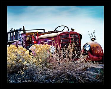 Mack Firetruck - Wanship, UT.  03-11-2011