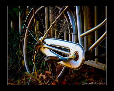 Bike - Nariata, Japan. January 9, 2012.