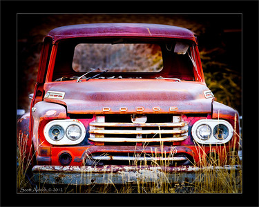 Old dodge.. near Henefer, UT.  February 11, 2012.