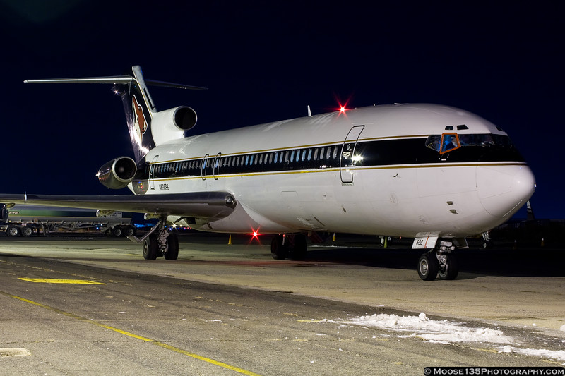 December 18 - Phoenix Coyotes departing Republic Airport after playing all three local NHL teams.