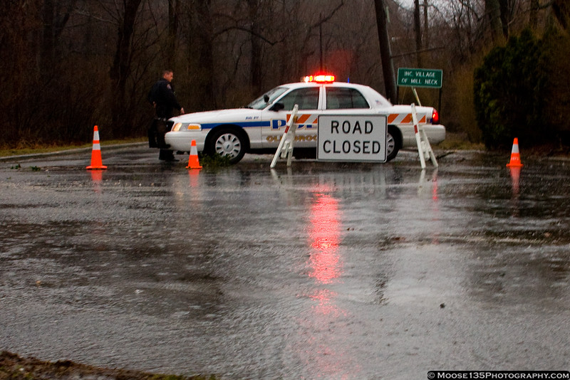 March 13 - Heavy rains and winds gusting to hurricane strength caused floods, downed trees, and closed roads.