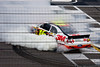 August 1 - Time to make the donuts - one week after his car owner, Jack Roush, was injured in the crash of his business jet, Greg Biffle wins the NASCAR Sprint Cup race at Pocono Raceway.