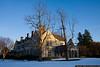 December 29 - Coe Hall at Planting Fields Arboretum following Christmas weekend snowstorm.