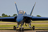 May 27 - It's Show Time...Blue Angels arrive at Republic Airport for the Jones Beach Air Show