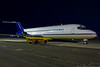 November 24 - Although they beat the Islanders, it was good to see the Columbus Blue Jackets DC-9 at Republic Airport.