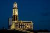 December 2 - Montauk Lighthouse in holiday lights.