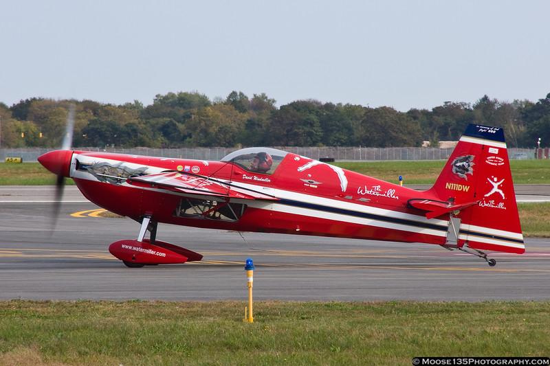 October 18 - Dave Windmiller prepares to depart Republic Airport.