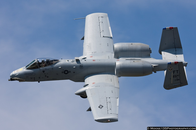 May 29 - Up close and personal with an A-10 at Republic Airport.